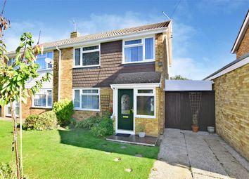 Thumbnail 3 bed semi-detached house for sale in Tilbury Road, Rainham, Gillingham, Kent