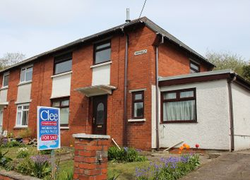 Thumbnail 3 bedroom semi-detached house for sale in Tan Yr Allt, Clydach, Swansea.