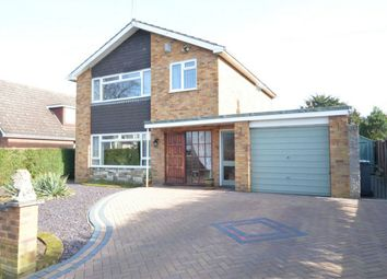 Thumbnail 3 bed detached house for sale in Warren Avenue, Hellesdon, Norwich