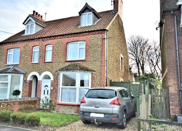 Thumbnail 3 bed semi-detached house for sale in Neville Court, Neville Road, Heacham, King's Lynn