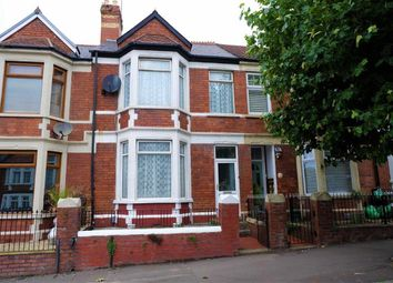 Thumbnail 4 bed terraced house to rent in Gladstone Road, Barry