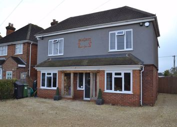 Thumbnail 4 bed detached house for sale in Benham Hill, Newbury, Berkshire