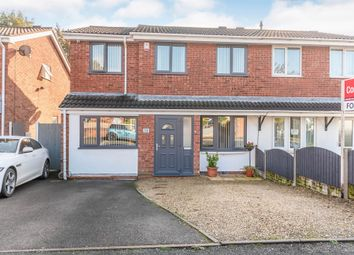 Thumbnail 4 bed semi-detached house for sale in Greenwood Park, Hednesford, Cannock