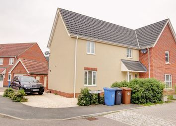 Thumbnail 3 bed property for sale in Lower Reeve, Great Cornard, Sudbury