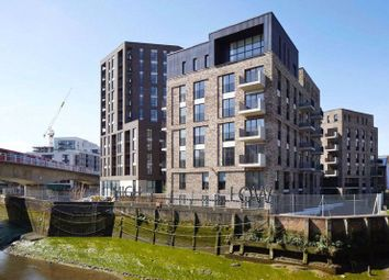 Thumbnail 2 bed flat to rent in Mitten House, Faircharm Dock, Creative Road