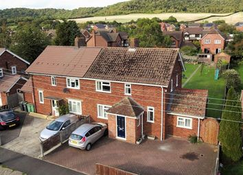 Thumbnail 3 bed semi-detached house for sale in Court Road, Burham, Rochester