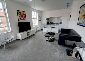 Thumbnail 1 bed flat to rent in Curzon House, Fox Lane North, Chertsey, Surrey