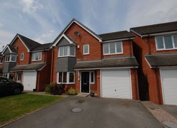 Thumbnail 4 bed detached house for sale in Oak Tree Gardens, Uttoxeter