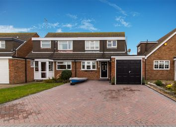 Thumbnail 3 bed semi-detached house for sale in Admirals Walk, Shoeburyness