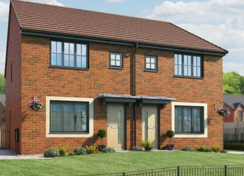 Thumbnail 3 bed semi-detached house for sale in Castlefield Avenue East, Runcorn, Cheshire