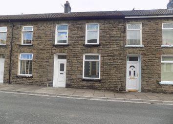 Thumbnail 3 bed terraced house for sale in Taff Street, Gelli, Pentre, Rhondda, Cynon, Taff.