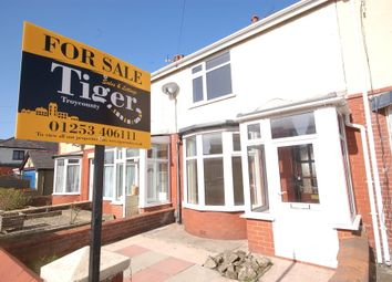 Thumbnail 2 bedroom terraced house for sale in Lynton Avenue, Blackpool