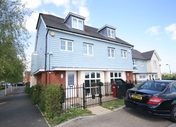Thumbnail 4 bed terraced house to rent in Mathecombe Road, Cippenham, Slough