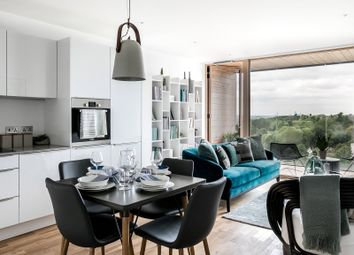 Thumbnail 2 bed flat for sale in Brouard Court, St Mark's Square, Bromley