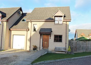 Thumbnail 3 bed link-detached house for sale in Knockomie Rise, Forres