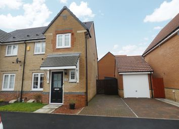 Thumbnail 3 bed semi-detached house for sale in Elliott Way, Consett