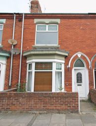 Thumbnail 3 bed terraced house to rent in Sandringham Road, Hartlepool