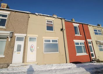 Thumbnail 2 bed terraced house to rent in Reservoir Terrace, Stanley, Crook