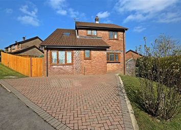 Thumbnail 4 bed detached house for sale in Heol Y Foel, Llantwit Fardre, Pontypridd