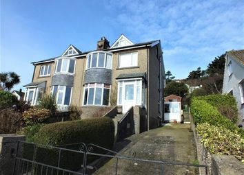 Thumbnail 4 bed semi-detached house to rent in Glengyle, Bradda West Road, Bradda, Port Erin