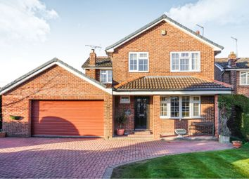 Thumbnail 4 bed detached house for sale in Paddock Close, Wilberfoss
