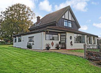 Thumbnail 4 bed detached house for sale in Shernden Lane, Marsh Green, Edenbridge