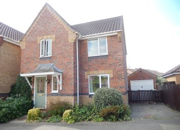 Thumbnail 3 bed detached house for sale in Burchnall Close, Deeping St. James, Peterborough