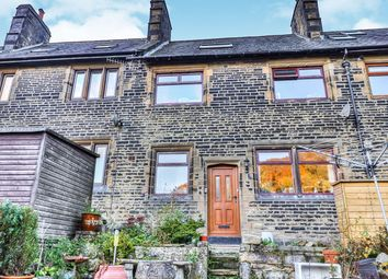 Thumbnail 3 bed terraced house for sale in Robinwood Terrace, Todmorden