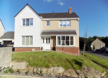 Thumbnail 4 bed detached house for sale in Clos Yr Eryr, Coity, Bridgend.
