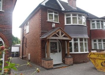 Thumbnail 3 bed semi-detached house for sale in Greenwood Avenue, Acocks Green