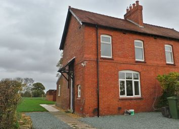 Thumbnail 3 bed semi-detached house to rent in Shrewsbury Road, Wem, Shropshire