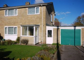 Thumbnail 3 bed semi-detached house to rent in Fairfield Close, Marshfield, Chippenham
