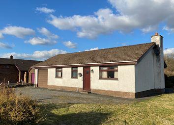 Thumbnail 2 bed detached bungalow for sale in Pontrhydfendigaid, Ystrad Meurig