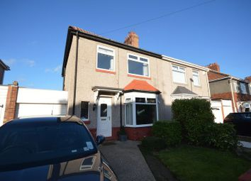 Thumbnail 3 bed semi-detached house for sale in Roker Avenue, Whitley Bay