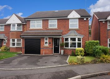 Thumbnail 4 bed detached house for sale in Bradmoor Grove, Chellaston