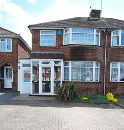 Thumbnail 3 bedroom semi-detached house for sale in Padstow Road, Pipe Hayes, Birmingham, West Midlands
