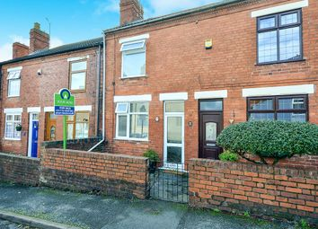 Thumbnail 2 bed terraced house for sale in Brooke Street, Tibshelf, Alfreton