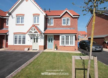 Thumbnail 3 bed mews house for sale in Ffordd Aberkinsey, Rhyl