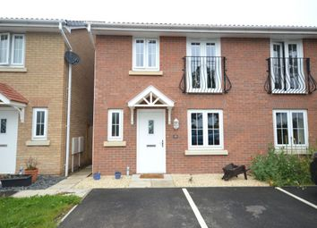 Thumbnail 3 bed semi-detached house to rent in Quintus Place, North Hykeham, Lincoln
