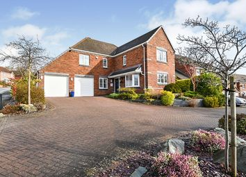 Thumbnail 4 bed detached house for sale in Betony Road, Burton-On-Trent