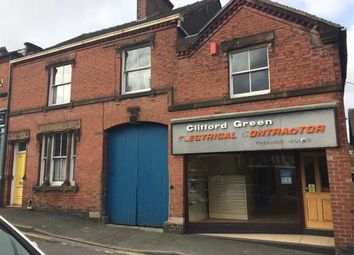 Thumbnail Commercial property for sale in Leonard Street, Leek, Staffordshire