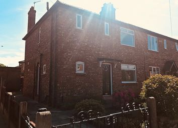 Thumbnail 3 bed semi-detached house to rent in Gladstone Road, Altrincham