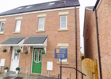 Thumbnail 3 bed semi-detached house for sale in Cilgant Y Lein, Pyle, Bridgend.