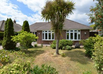 Thumbnail 5 bed detached bungalow for sale in Barton Croft, Barton On Sea, New Milton