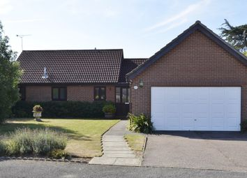 Thumbnail 3 bedroom detached bungalow for sale in Brinkley Way, Old Felixstowe, Felixstowe