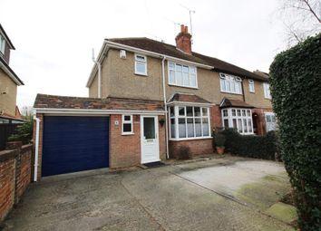 Thumbnail 3 bed semi-detached house for sale in Gratwicke Road, Tilehurst, Reading
