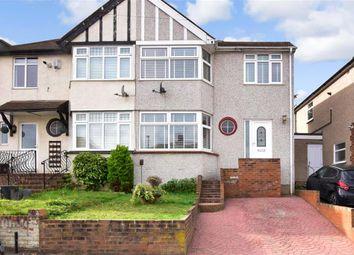Thumbnail 3 bed semi-detached house for sale in Castleton Avenue, Barnehurst, Kent