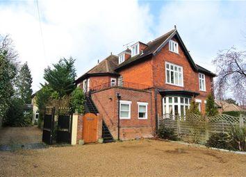 Thumbnail 3 bedroom flat to rent in Devonshire Road, Weybridge, Surrey