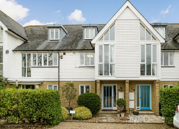Saxon Shore, Island Wall, Whitstable CT5. 3 bed town house for sale