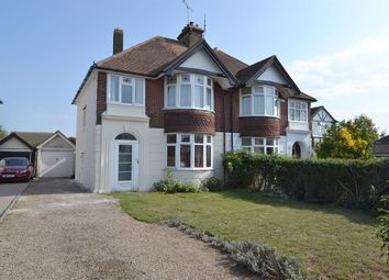 Thumbnail 3 bed semi-detached house for sale in Bennells Avenue, Tankerton, Whitstable